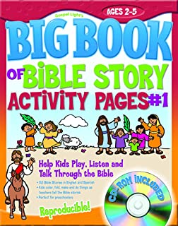 The Big Book Of Bible Story Activity Pages 1 With CD ROM