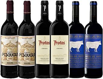 Pack de Vino Crianza DO Ribera del Duero - 100% Tempranillo ...