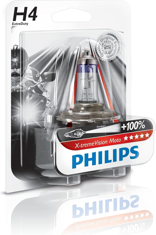 130/% H4/Ampoule de phare de moto BW x-tremevision Moto Philips 12342/X V 1/pi/èce