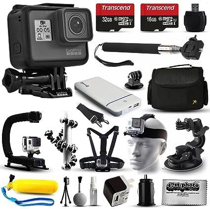 Amazon.com: GoPro HERO6 Session HD - Cámara de acción (CHDHS ...