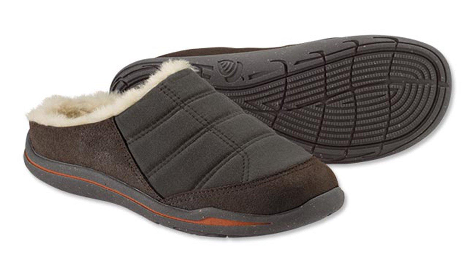 Orvis Men's Ultralight Barefoot Slippers, Brown, 9