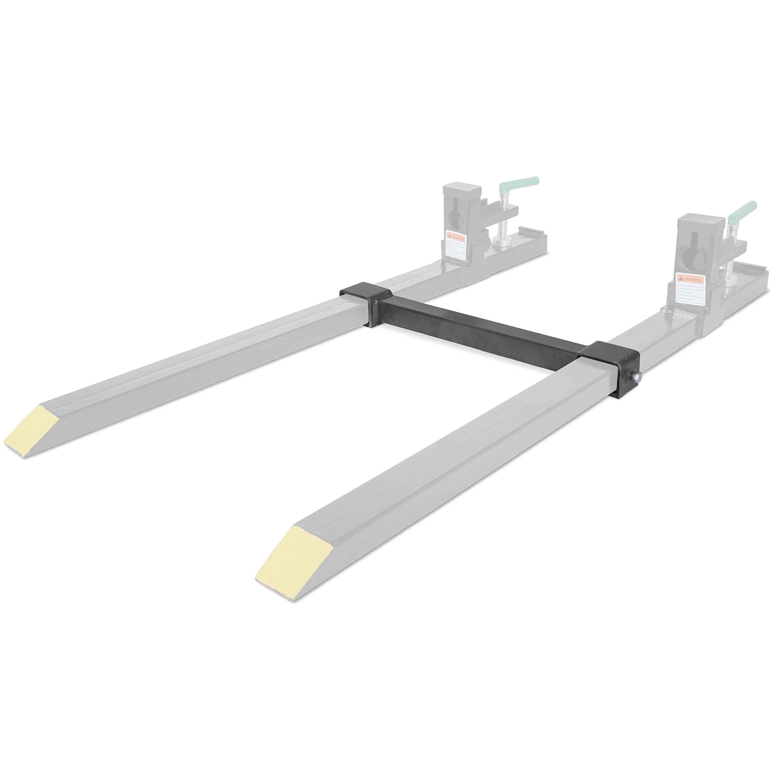 Titan Attachments Clamp on Fork Stabilizer Bar for Medium Duty Forks