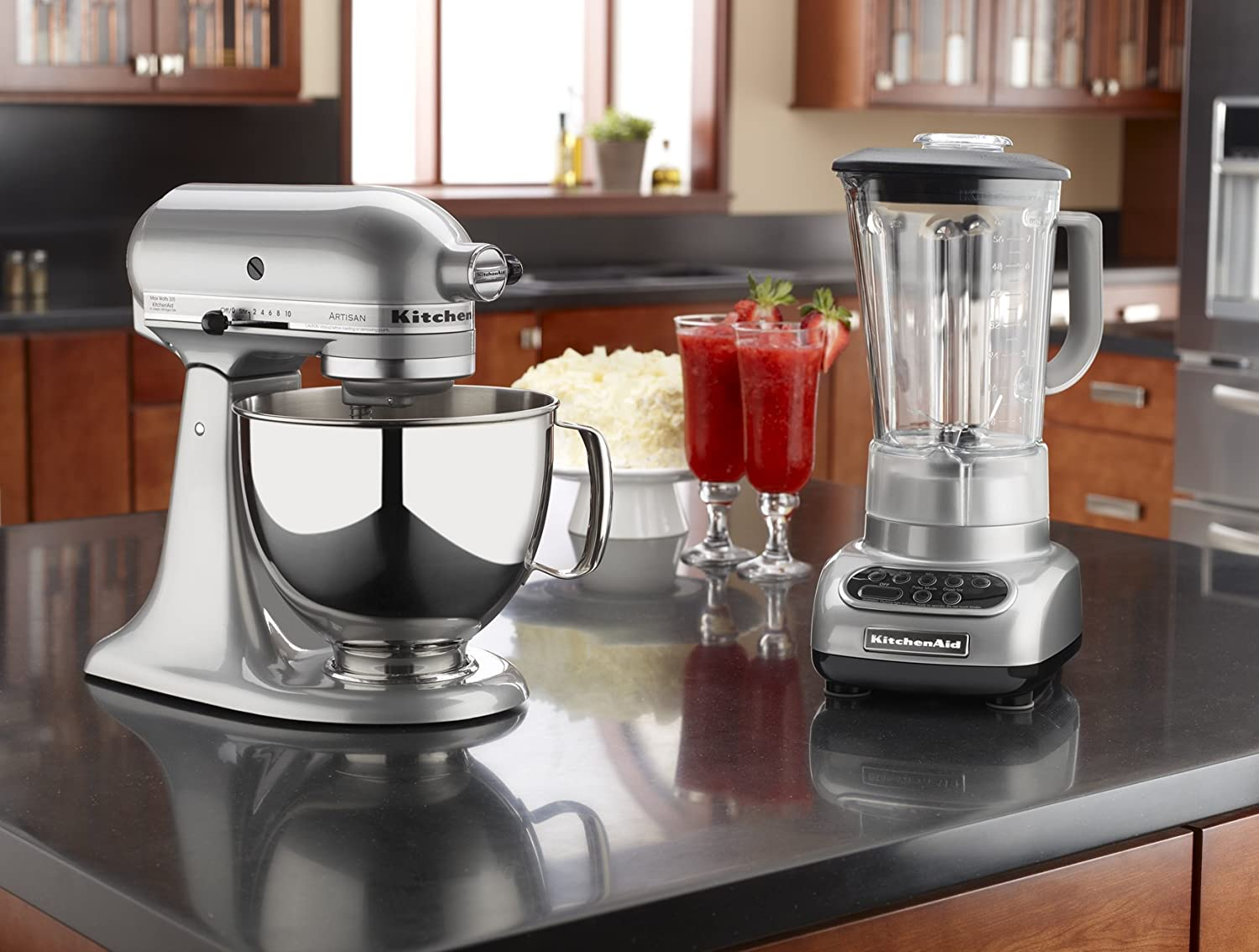 Amazon.com: KitchenAid 5-Speed Blender with Polycarbonate Jar ...