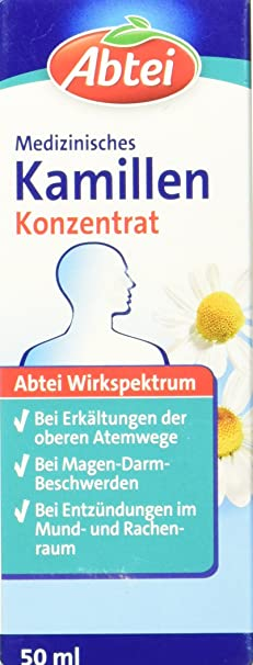 Abtei med. Kamillenkonzentrat, 50 ml, 1-er Pack (1 x 50 ml)