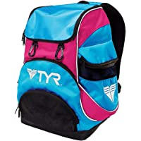 TYR Polyester Alliance Team Mini Backpack (Blue-Pink)