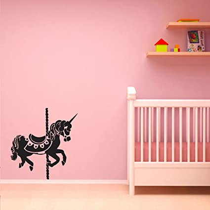 Amazon.com: Unicorn Carousel - Vinyl Wall Art Stickers - 25\