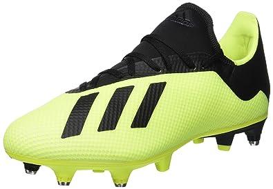 separation shoes ac10e a44fe adidas X 18.3 SG, Chaussures de Football Homme, Jaune (AmasolNegbás