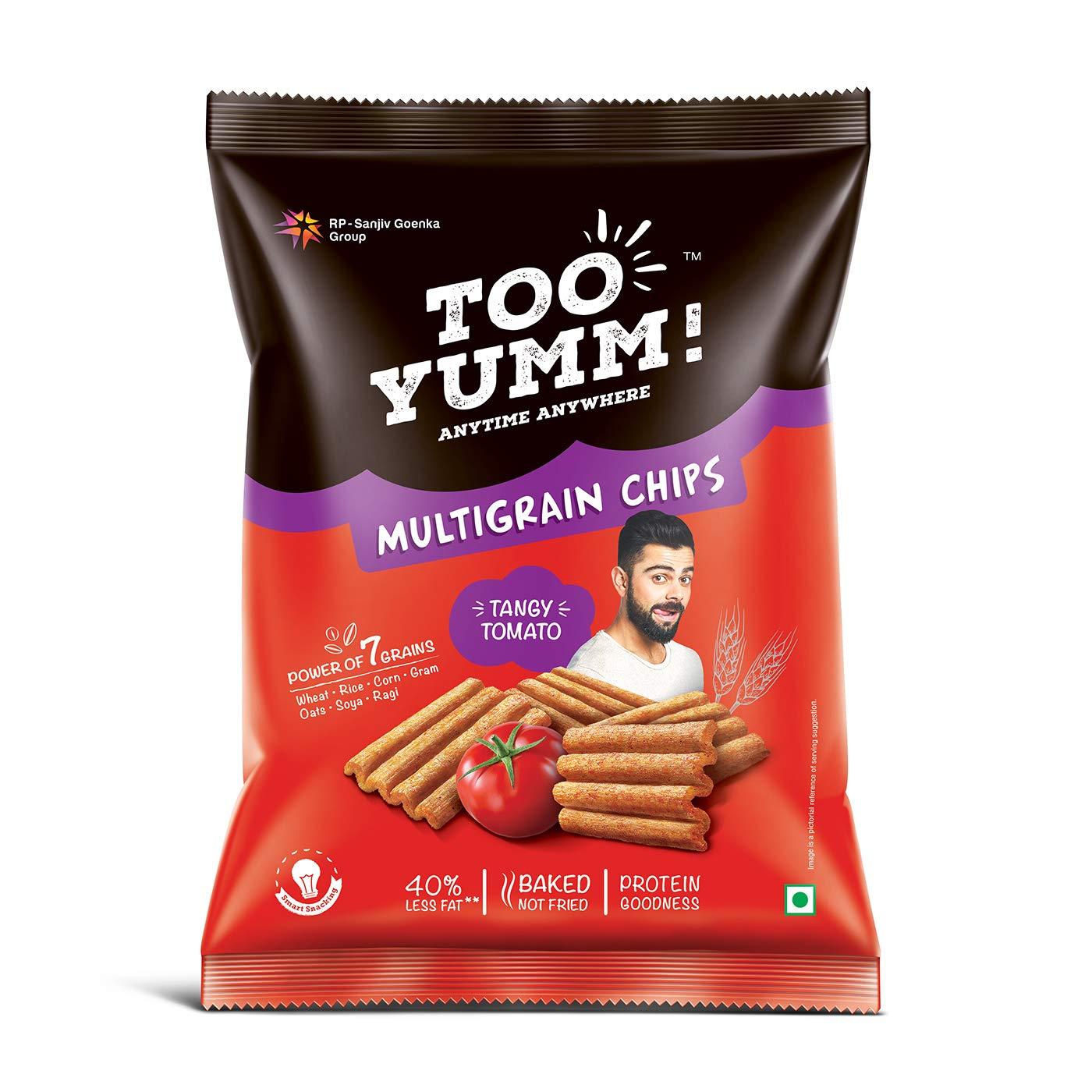 Too Yumm! Multigrain Chips, Tangy Tomato, 54g
