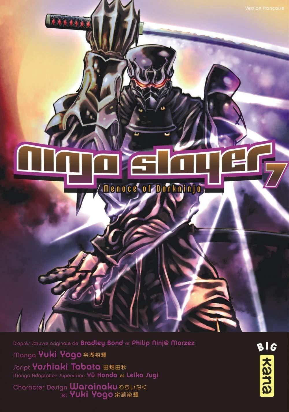 Ninja slayer, tome 7: Amazon.es: Yoshiaki Tabata, Yuki Yogo ...
