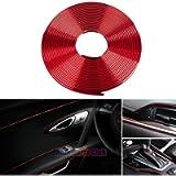 GOADROM Car Interior Moulding Trim,3D DIY 5 Meters Electroplating Color Film Car Interior Exterior Decoration Moulding…