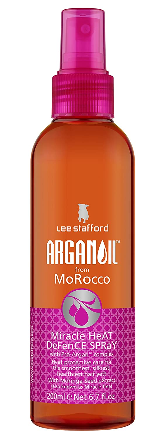 Lee Stafford Argan Oil From Morocco Miracle Heat Defence Spray 200ml 886011000228