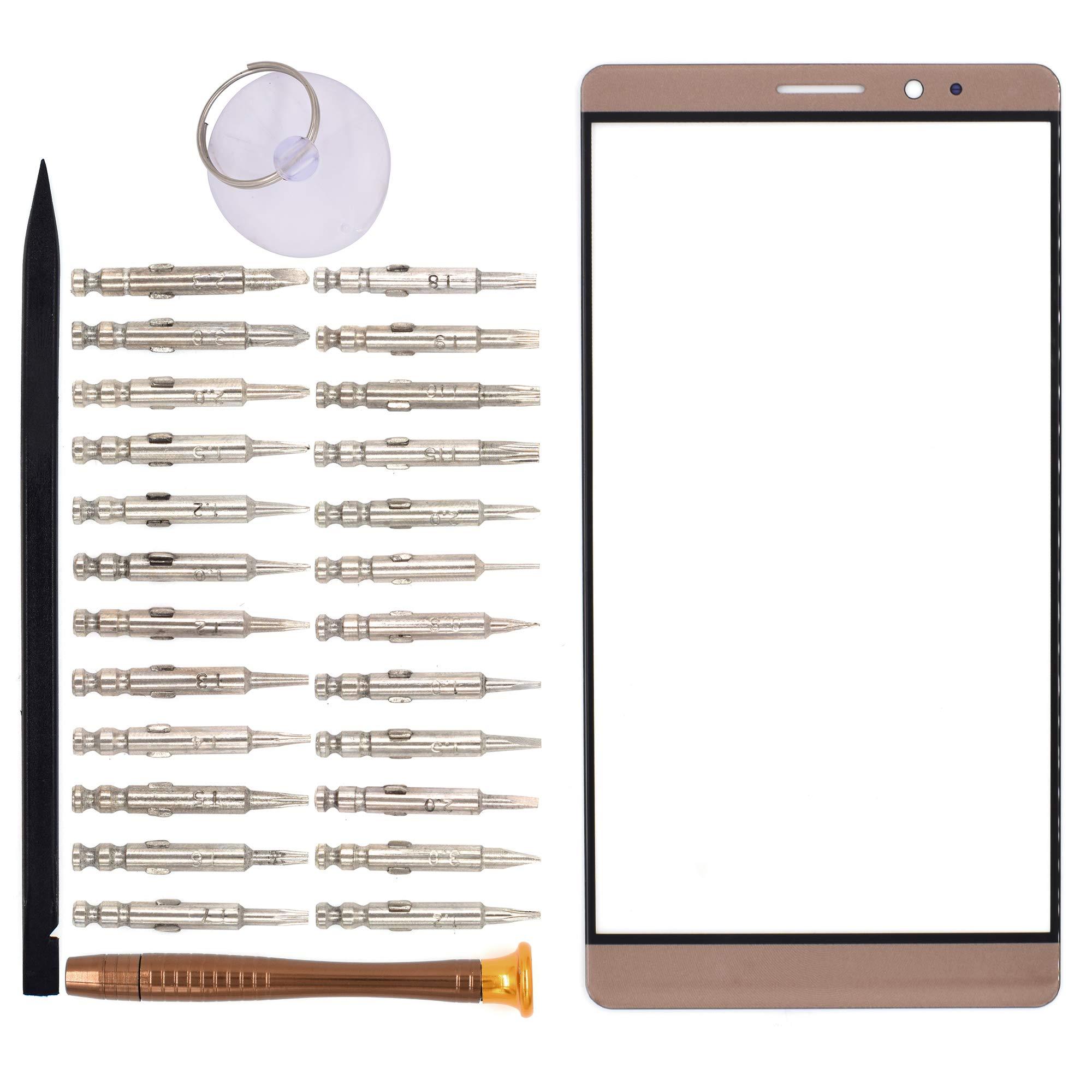 Vidrio Frente Para Huawei Mate 8 Marron [goodyitou]