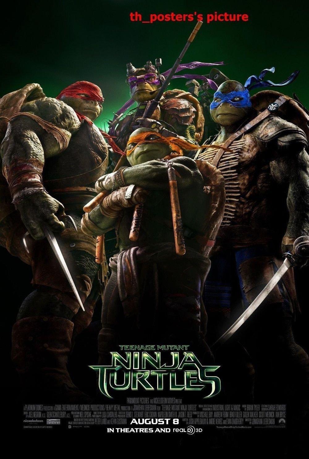 Amazon.com: Tomorrow sunny TMNT Teenage Mutant Ninja Turtles ...