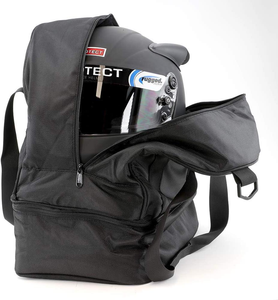 Rugged Radios HELMET-BAG-XL Helmet Bag with Bottom Storage Compartment
