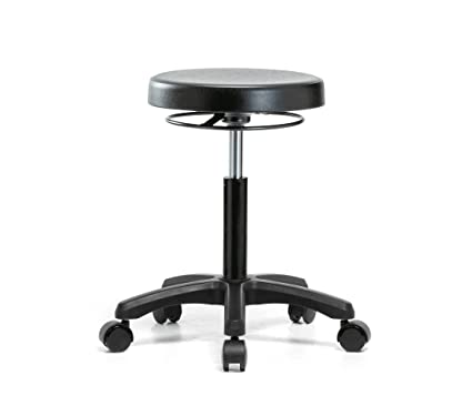 Superieur Perch Polyurethane Work Stool Heavy Duty For Lab Workshop Garage Office Or  Home (Hard Floor