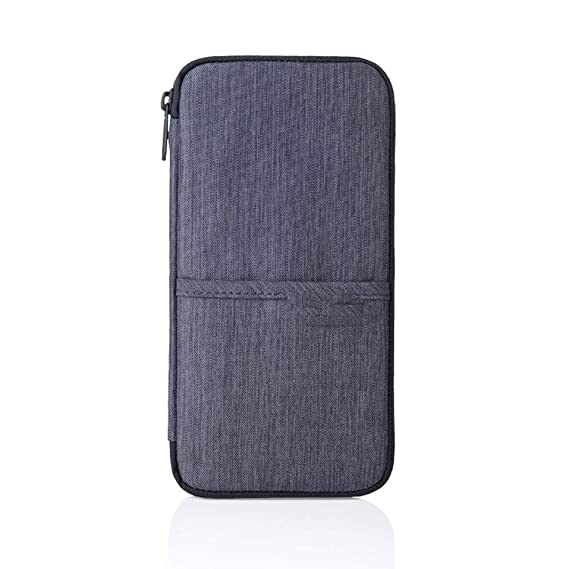 a5a28b49e79 Image Unavailable. Image not available for. Color  I ll NEVER BE HER  Factory Travel Journey Document Organizer Wallet Passport ID Card Holder