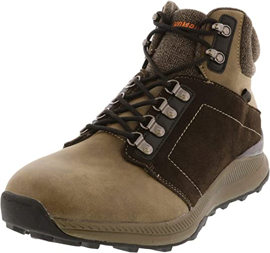 Top Leather Hiking Boot: Khombu