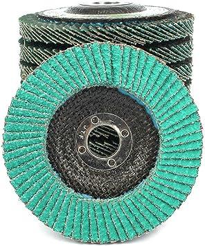 DEWALT DW8300 4-Inch by 5//8-Inch 36 Grit Zirconia Angle Grinder Flap Disc