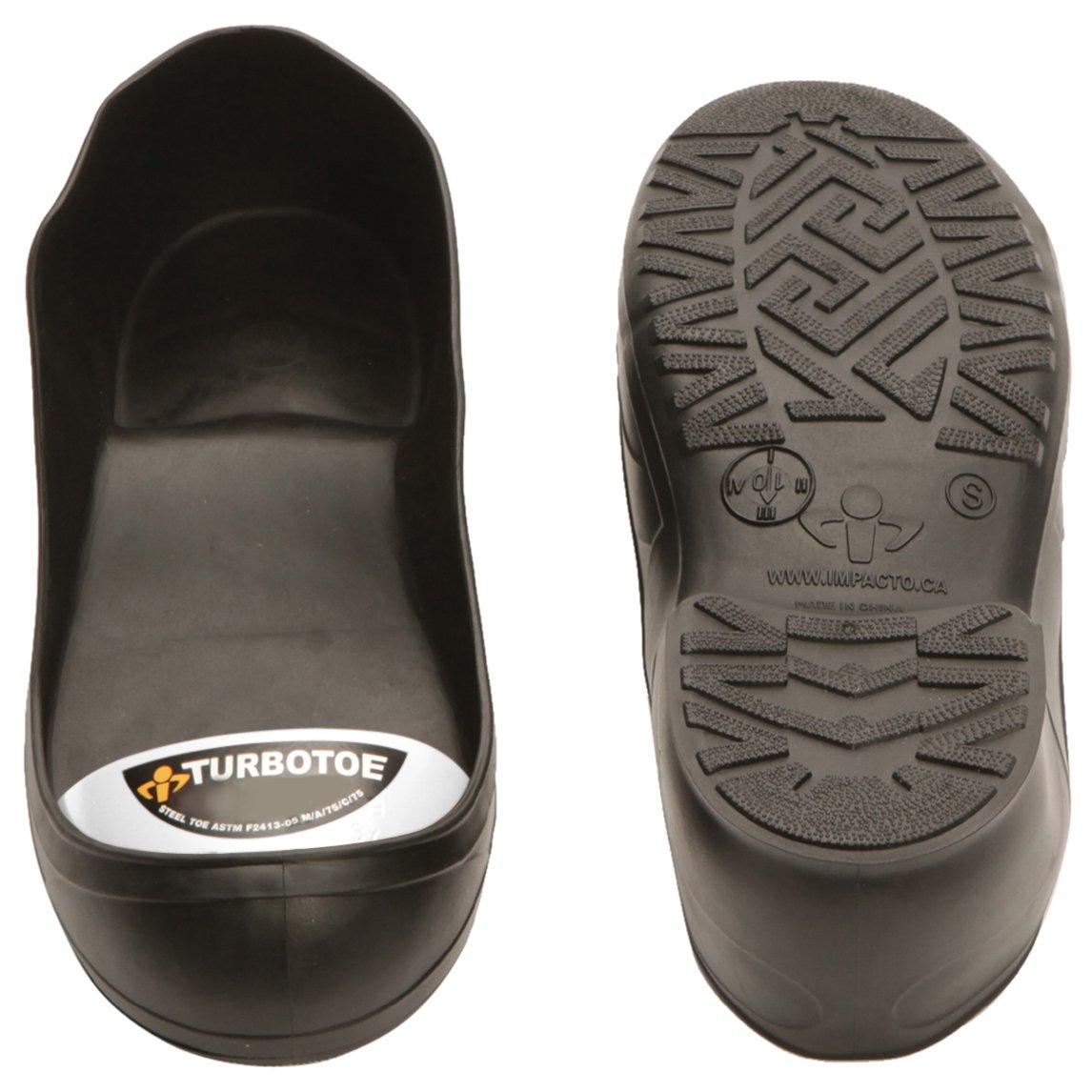 Impacto TTUS Turbotoe Steel Toe Cap, Black by Impacto (Image #1)