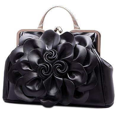 Amazon.com: HAOSHIDUO - Bolso de noche para mujer, bolso ...