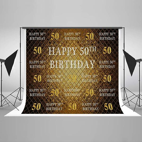 Mehofoto - Fondo Personalizado para 50 años 60 años 70 años ...