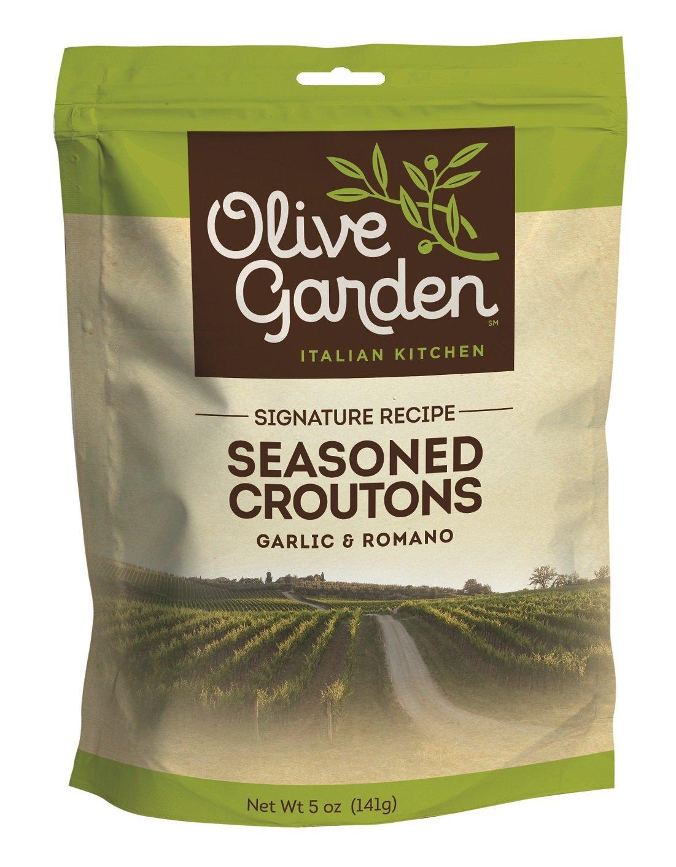 Olive Garden Seasoned Croutons, Garlic & Romano, 5 Oz (Pack Of 9)