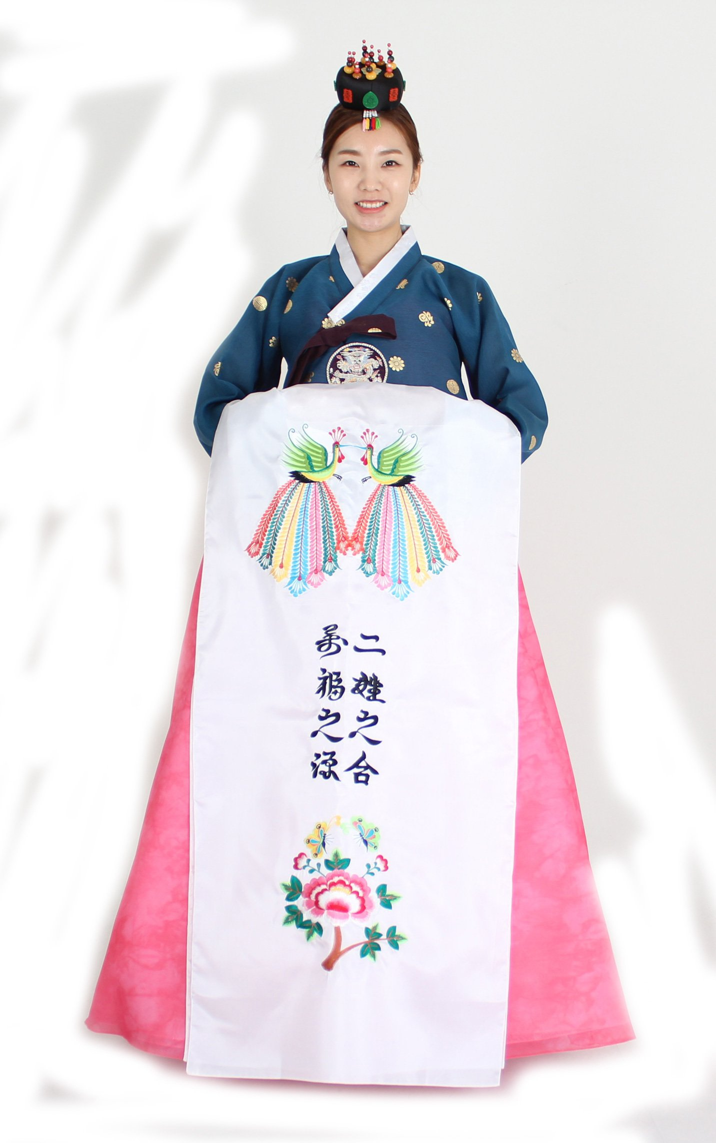 Hanbok Korea Traditional Costumes WEDDING BRIDE Womens Junior Party Birthday Ceremony co114 (55 (S) womens top)