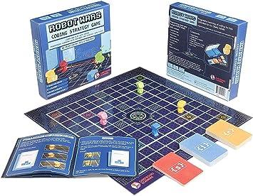 ROBOT WARS Juego de mesa de programación – Aprende y juega con ...