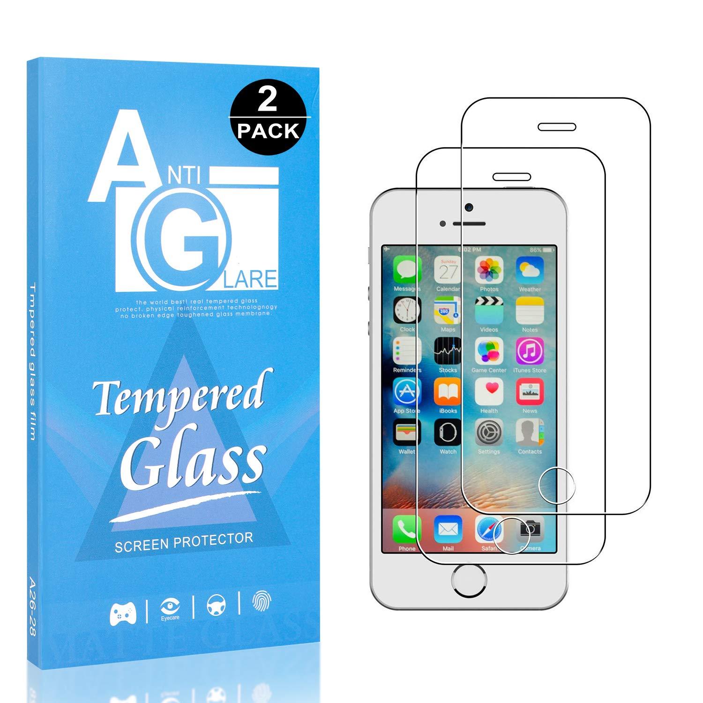 Ultra R/ésistant Protection en Verre Tremp/é /Écran pour Apple iPhone SE//iPhone 5 5s Duret/é 9H Film Protection /Écran Vitre Bear Village/® Verre Tremp/é iPhone SE//iPhone 5 5s 2 Pi/èces