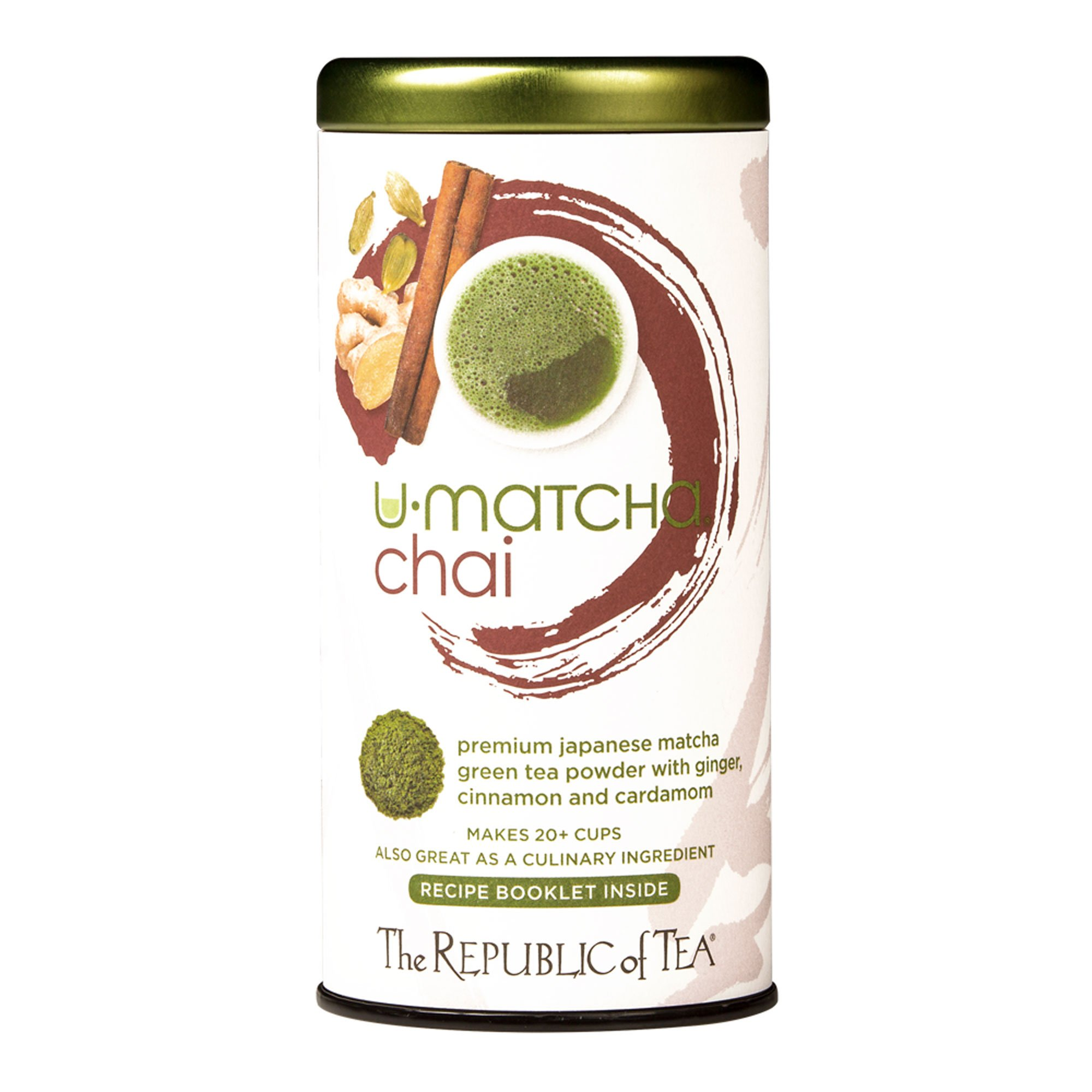 The Republic Of Tea U-Matcha Chai Tea, 1.5 Ounces / 20+ Cups, Chai Spices and Matcha Tea Powder
