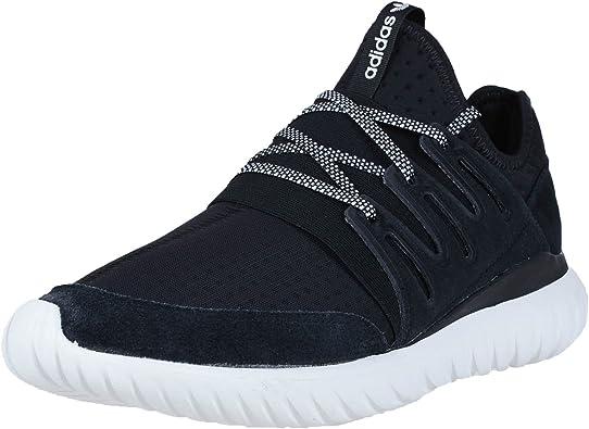 adidas Mens Tubular Radial Sneakers Shoes Casual - Black