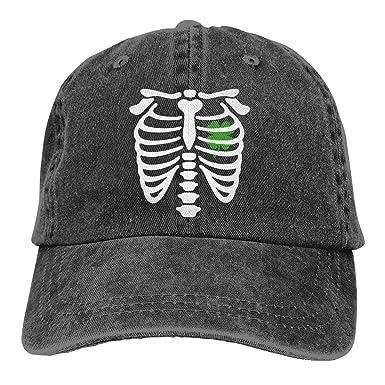 Hoswee Hombres Mujer Gorra Beisbol, Snapback Sombreros X-Ray Irish ...