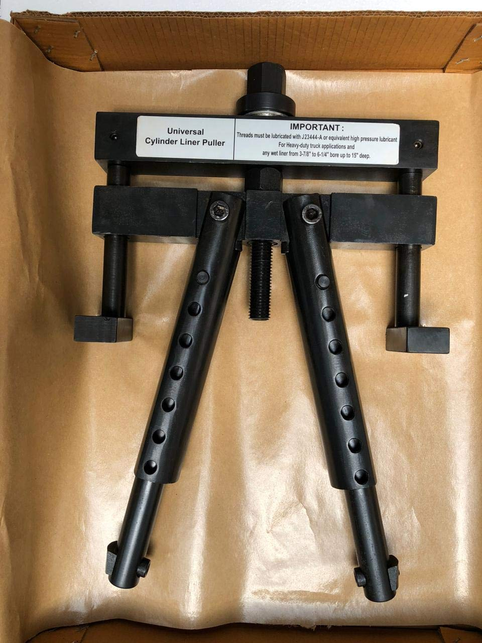 Universal Cylinder Liner Puller Assembly for Caterpillar & Cummins PT-6400-C