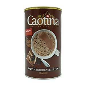 Caotina Fine Swiss Milk Chocolate Multivitamin Powder Drink 500g - Made in Switzerland by Wander