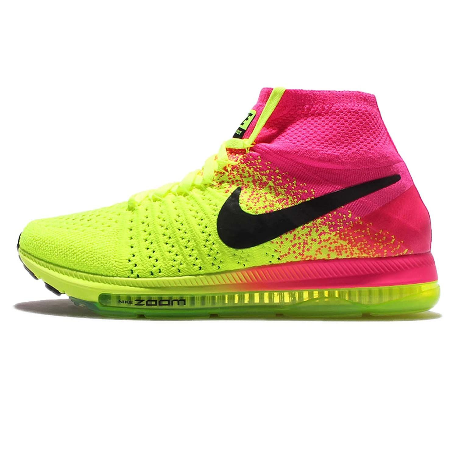 Nike Women's Zoom All Out Flyknit Running Shoes B01KHQW1YO 6.5 B(M) US|Multi-color/Multi-color