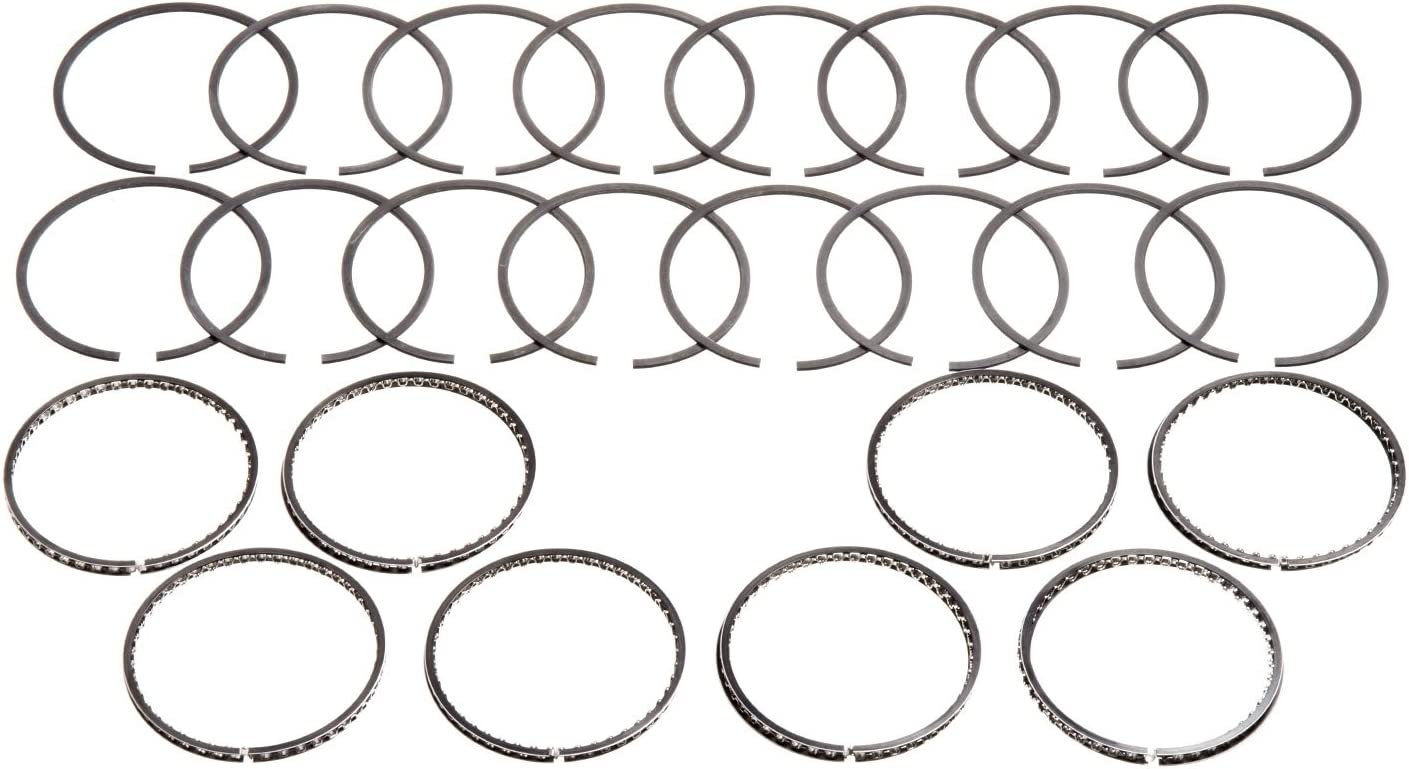 Hastings 4742030 8-Cylinder Piston Ring Set