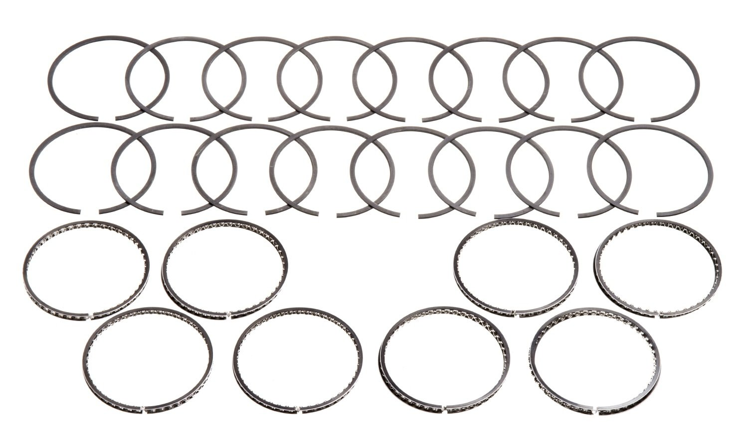 Hastings 5618040 8-Cylinder Piston Ring Set