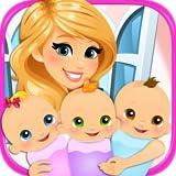 elsa baby games - Newborn Triplets - Newborn Baby & Mommy Pregnancy Games FREE
