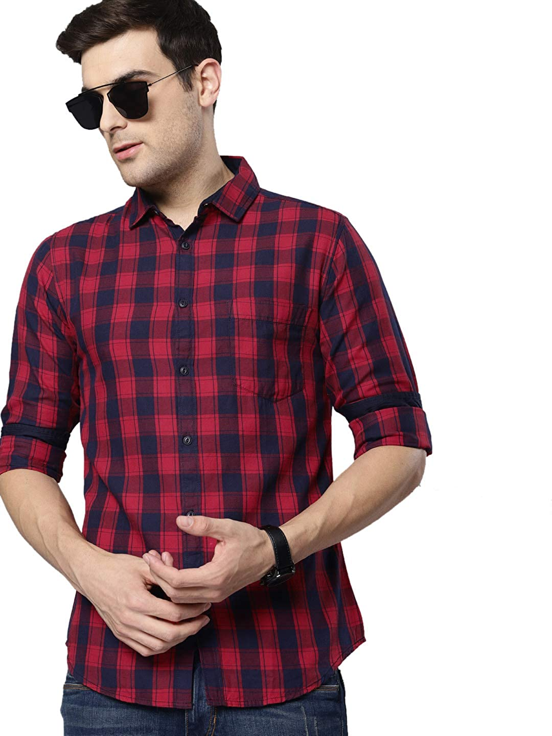 Dennis Lingo Mens Shirts up to 83% off  From RS 379 at Amazon