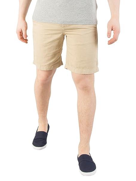 Tommy Hilfiger Hombre Pantalones Cortos de Cordón del Deportista, Marrón: Amazon.es: Ropa y accesorios