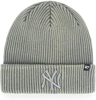 47 Gorros New York Yankees Northwood Grey Cuff Brand: Amazon.es ...