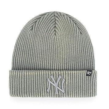 c4dec866304  47 Brand Knit Beanie - Northwood New York Yankees dark grey  Amazon.co.uk   Sports   Outdoors
