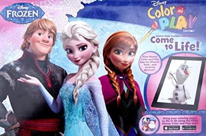 Disney Frozen Color And Play Super Activity Coloring Book Pad