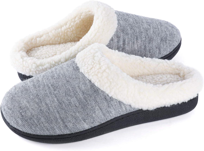loukou Children Casual Soft Patchwork Non-Slip Winter Cotton Shoes Slippers