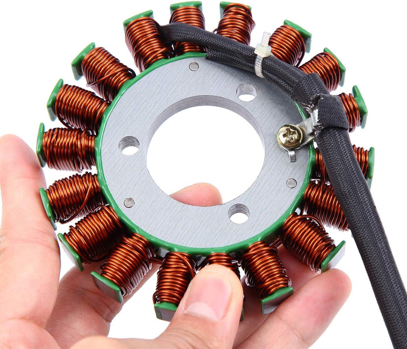 Ambienceo Motorcycle Magneto Stator Coil Voltage Regulator Rectifier for Suzuki Gsxr600 Gsxr 600 Gsx-R600 2006 2007 2008-2016