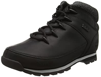 Timberland Men's EURO Sprint Hiker Black Leather Boot (6200R)