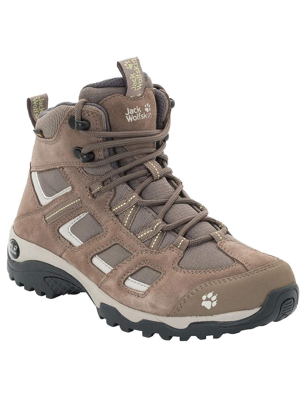 (Siltstone 5116) 42.5 EU Jack Wolfskin Vojo Hike 2 Texapore Mid W imperméable, Chaussures de Randonnée Hautes Femme