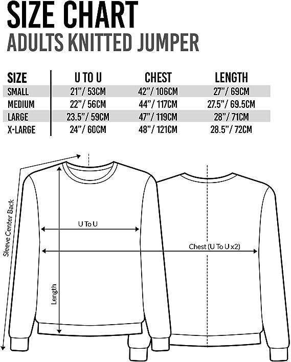 HARRY POTTER Ron Weasley Letter R Premium Knitted Unisex Suéter para Hombre