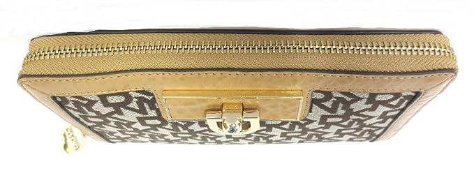 DKNY Donna Karan - Monedero para mujer beige marrón DKNY ...