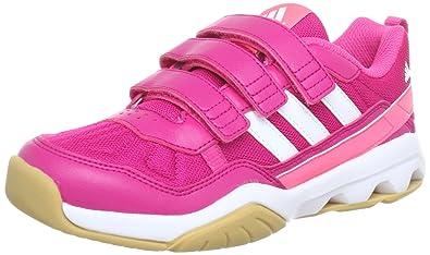 the best attitude e143a 19277 adidas Performance GymPlus 2 CF K G96230 Unisex-Kinder Laufschuhe, Pink  (BLAST PINK
